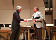 Yamaha Artist Services Indianapolis Honors Dr. Michael Varner For Outstanding Contributions to Percussion Music Education