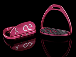 American Equus Teardrop XL Breast Cancer Awareness Irons