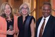 Mary Gibbons Gardiner, board member; Susan Yubas, event co-chair, board chair; Max Gaujean, Esq., sponsor, Brown, Gruttadaro, Gaujean, Prato & Sastow, PLLC