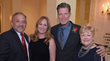 L-R: Terry Geller, DDS, event co-chair; Michele Fraser Geller, event co-chair and sponsor; Stone Phillips, special guest speaker; Holly Benedict, director of public affairs and development, HOW