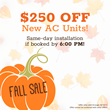 All Year Cooling Announces A Coupon Just in Time for Fall