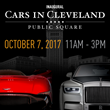 "Tens of thousands expected on Public Square for Saturday's inaugural ""Cars in Cleveland"" event"