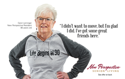 New Perspective Senior Living Ad Campaign Gives Seniors an Authentic Voice