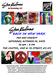 Steve Kaufman - Back In New York
