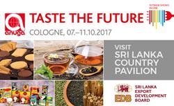 Visit Sri Lanka County Pavillion at Anuga 2017