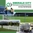 Emerald City Fence Rentals and Statewide Rent-a-Fence merge the operations becoming Washington's largest fence rental company.