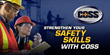 Join Delaware Valley Safety Council for a Webinar for Certified Occupational Safety Specialists (COSS) Training Series on October 12 from 2pm-3pm (Eastern Time)
