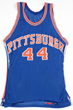 1969-70 Charles Williams Pittsburgh Pipers ABA Game Worn Jersey, estimated at $6,000-9,000.