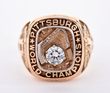1960 Pittsburgh Pirates World Series Championship Ring, estimated at $12,000-16,000.