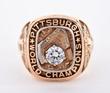1960 Pittsburgh Pirates World Series Championship Ring, estimated at $12,000-16,000.