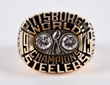 1975 Super Bowl X Pittsburgh Steelers Ring Presented to Joe Gilliam, estimated at $40,000-50,000.