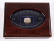 1999 Super Bowl XXXIV St. Louis Rams Ring, estimated at $20,000-25,000.