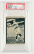 1931 W517 Babe Ruth Throwing Card PSA 9 Mint Highest Graded, estimated at $6,000-9,000.