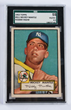 1952 Topps #311 Mickey Mantle Rookie Card, estimated at $30,000-40,000.