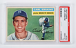 1956 Topps Carl Erskine, estimated at $4,000-8,000.