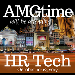 AMGtime will be showcasing their time and attendance solutions in Las Vegas at this year's HR Technology Conference