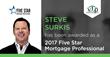 Steve Surkis Wins Five Star Mortgage Professional Award