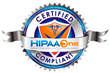 HIPAA One Certified Compliant Seal