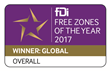 Dubai's DMCC Awarded 'Global Free Zone of the Year' 3 Years in a Row