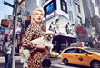 "Body Positive Activist KhrystyAna photographed with a rescue dog for Louie's Legacy's 2018 Annual Fundraising Calendar ""Paws of Gotham"" to raise funds for animal rescue."