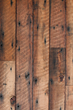 Saw Kissed Douglas fir salvaged from Pacific Northwest granaries receives a bit more texturing from Pioneer Millworks.