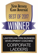 Corporate Ladders Wins Gold Award for Best Lawyer/Law Firm Business Development Coaching & Training