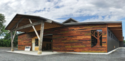 Join the official opening of New York State's first complete Cross Laminated Timber building on October 12, 2017.