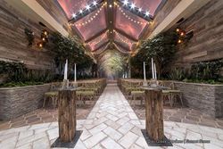 Chapel of the Flowers - Fall Wedding Package - Glass Gardens - Rustic Barn Wedding Venue