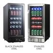 Black Stainless Steel vs. Regular Stainless Steel