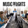 Yamaha Music DeLIGHTS Wellness Program Inspires Seniors to Play the Keyboard Simply by Following Lighted Keys