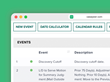 CASEpeer users with a CalendarRules subscription can automatically generate cascading litigation events & deadlines.