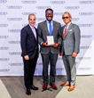 (L-R): Dan Conn, CEO of Christie's International Real Estate, Joseph Babineaux of Dilbeck Estates, and Zackary Wright, Executive Director of Christie's International Real Estate