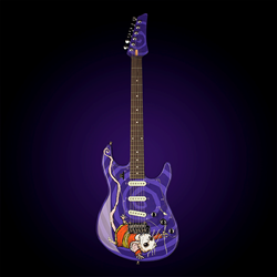 "Custom Variax JTV 69 guitar - ""Mad T Party"""