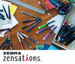 Zebra Pen Gets Creative with New Zensations