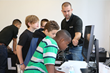 Students participate in hands-on lab activities