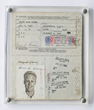 Bruce Brown's 1961 passport he used for his trip filming The Endless Summer; traveling to the coasts of Australia, New Zealand, Tahiti, Hawaii, Senegal, Ghana, Nigeria and South Africa.
