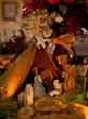 Christmas Gingerbread Manger | Adam Kuehl / Green Palm Inn