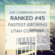 Jive Communications Named One of Utah's Fastest Growing Companies of 2017