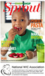 ChopChop Kids and the National WIC Association Join Forces to Provide a New Magazine Series: ChopChop Sprout to WIC Offices Around the Country