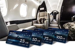 Privé Jets adds jet card program to enhance its industry leading luxury travel services