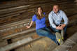 Erin and Jason True, Owners of Urban Wood Goods.