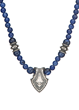 Sterling Silver and sodalite necklace