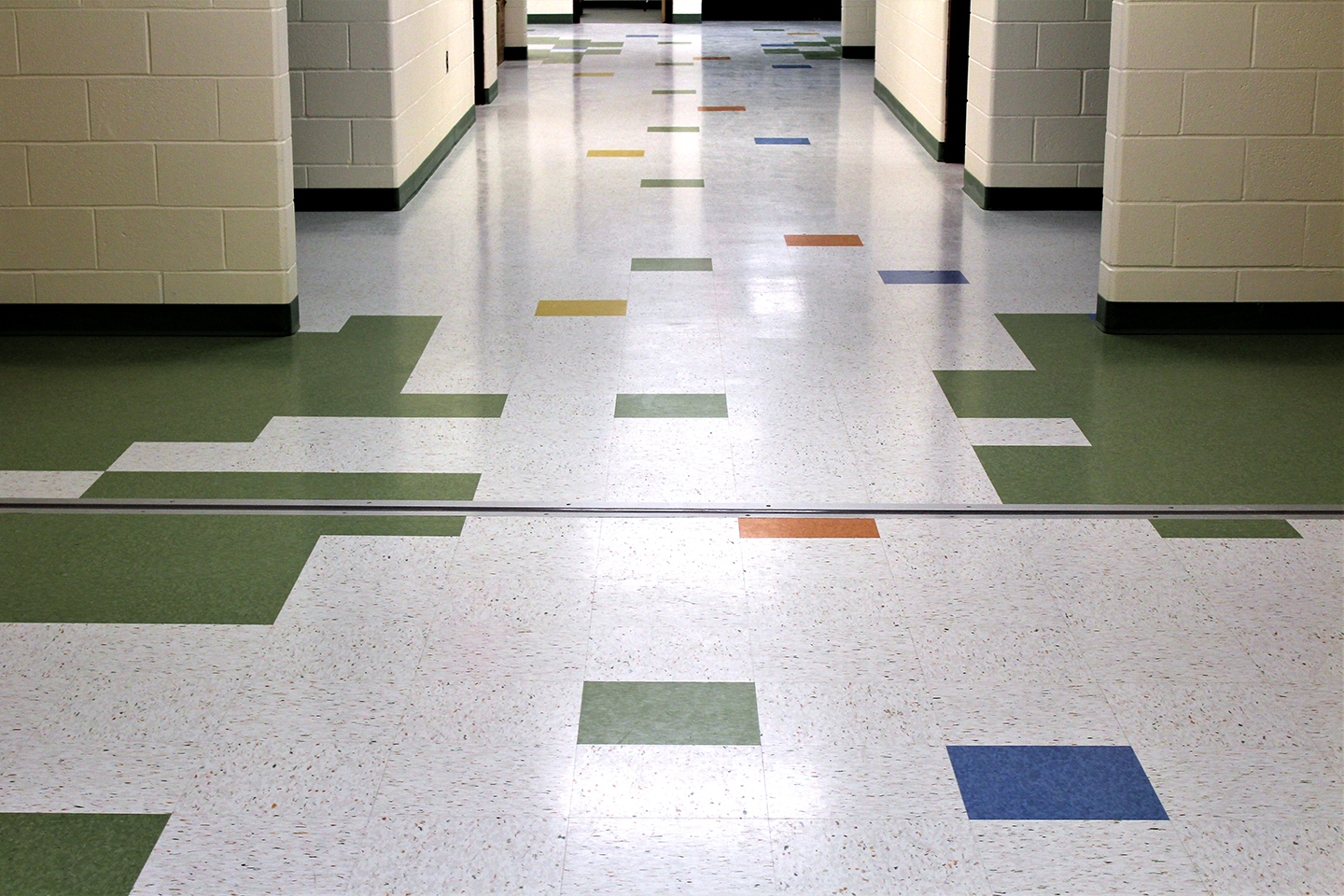 The gillespie group starts school year right with for Armstrong laminate flooring installation