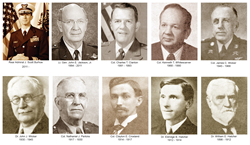 Ten school presidents have served Fork Union since its founding in 1898.