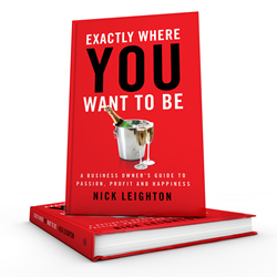 Book Cover - Exactly Where You Want to Be