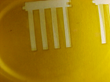 Polymide cut with laser automation