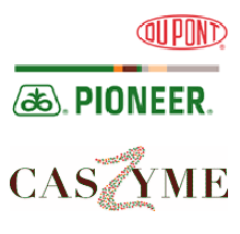 DuPont Pioneer and CasZyme Logos