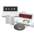 Deaf smoke co alarm