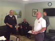 local fire, ems, police and emergency manager with the Director of Maintenance Ron Burgess.