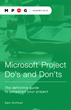 Microsoft® Global Community Publishes Project Do's and Don'ts Tell-All